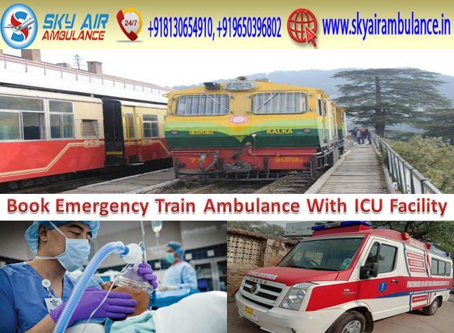 get sky train ambulance in india 04